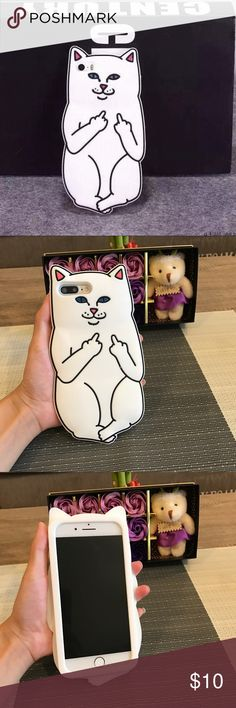 Cat iphone 7 or iphone 7 plus case !!iphone 7 or iphone 7 plus case !!pattern is shown as the first pic show !!High quality silicon case !!next day shipping Accessories Phone Cases