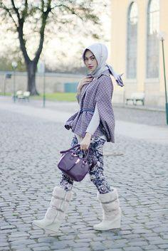 Lilac in Autumn | Indah Nada Puspita #hijab#muslimah