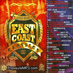 The East Coast Classics Collection  - Collector's Mixtape Mix CD Sex Songz