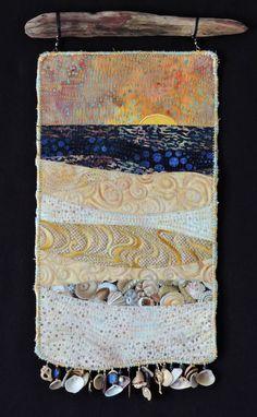 Fiber Art Quilts-Beachscape                                                                                                                                                     More