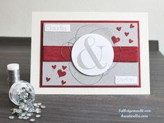 Hochzeitskarte Hochzeitspapeterie vanille chili