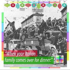 Family dinners.  #heellelujah #family #dinner #supper #italian #italians #italy #bigfamily #bigfamilyproblems #vintage #blackandwhite #christmas #holiday #holidays #followforfollow #food #eat #eating #truck #crowd #men Family Problems, Big Family, Christmas Holiday, Crowd, Dinners, Truck, Italy, Holidays, Eat