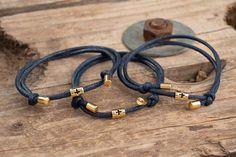 Bracelets, Leather, Jewelry, Macrame, Ear Studs, Style, Jewlery, Bijoux, Jewerly