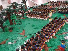 History in Lego!