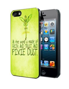 Tinkerbell Pixie Dust Quotes iPhone 4 4S 5 5S 5C Case