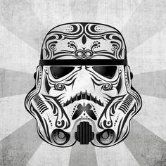 storm trooper dia de los muertos