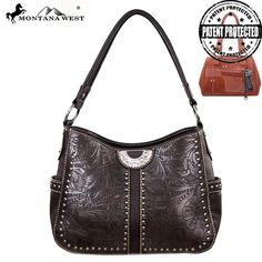 Montana West Tooled Conceal Handbag