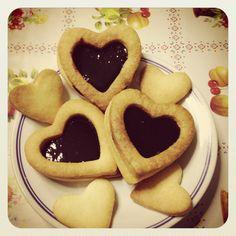 Frolla e marmellata: il trionfo della semplicità. #biscotti #homemade