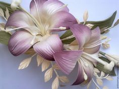 Iris Flowers, Flower Petals, Flowers In Hair, Silk Flowers, Fabric Flowers, Wedding Flowers, Floral Headbands, Bridal Headbands, Flower Corsage