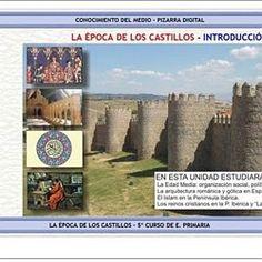 LA EDAD MEDIA (Juegos, actividades y materiales de 5º de Primaria) | Pearltrees Education, Socialism, Middle Ages, Tights, Castles, Teachers, Onderwijs, Learning