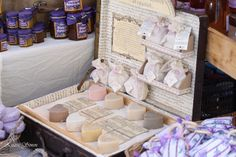 travelling with love shaped soaps,