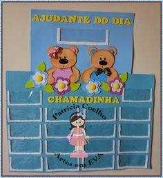 Aprender Brincando: Decoração - Sala de Aula - Abelhas e Ursos