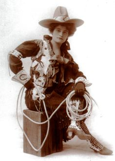 Old time cowgirls were the real deal