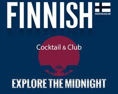 Finnish - Cocktail & Club Cocktail Club, Web Design, Cocktails, Calm, Movie Posters, Craft Cocktails, Design Web, Film Poster, Cocktail
