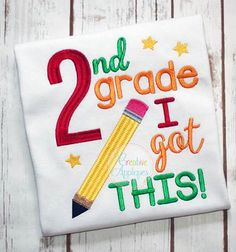 2nd Grade I got this Embroidery $ REPIN THIS then click here: https://creativeappliques.com/