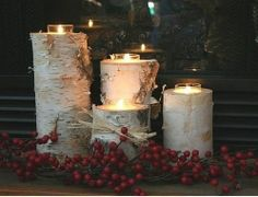 Rustic Christmas Centerpieces | Rustic Christmas Ornaments and Decorations | Christmas