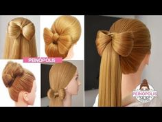 5 hairstyles with braids quick and easy hair ties for girls 2019 Ale, How To Curl Your Hair, Childrens Party, Blow Dry, Damaged Hair, Hair Ties, Hair Looks, Hair Band, Healthy Hair