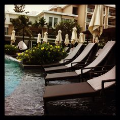When chilling equates to such relaxation.. #crowneplaza #phuket #panwa #resorts #travel #hotels