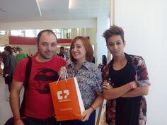 Networking con @misstechin y @cinemascomics en @EnsaladaSeo #ensaladaseo