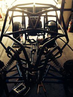 Razr Sharp Customs chassis in progress