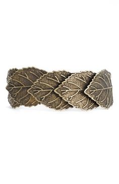 stephan & co leaf hinged cuff $14.00