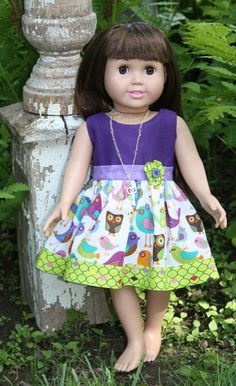 American Girl/ 18 Inch Doll Clothing  Little Fun by AuroraandLuna, $22.00
