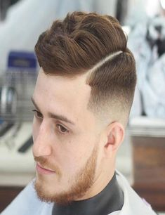 Side Part Men Hairstyle Fabulous Classy Summer 2017