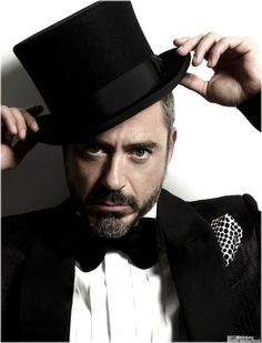 Love this man more every time I see him.  The top hat = my IDOL!
