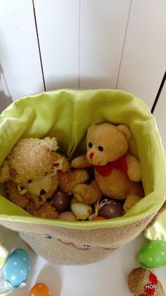 """Koszyczek """"BAG"""" - HONII - Puszki i pudełka na zabawki"""