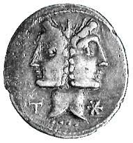IMPERIO ROMANO: EL DIOS JANO Janus, Greek Gods And Goddesses, Coin Art, Capricorn And Aquarius, Greek Words, Book Of Shadows, Archetypes, T Rex, Mythical Creatures