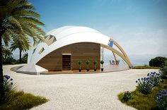 The Pearl - Energy Efficient Dome Homes