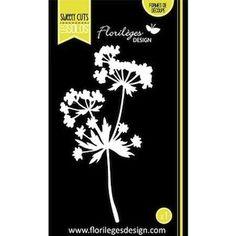 Florilèges Design DIES Sweety Cuts Les Solos Ombellifère - Boutique www.scrapboukits.com