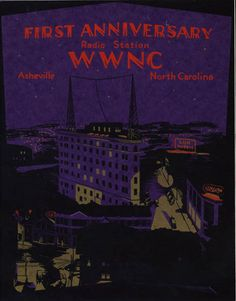 "WWNC, whose call letters stand for ""Wonderful Western North Carolina,"" signed on the air February 21, 1927, as Asheville's first radio station. At one time, the station was home to ""Amos and Andy"", ""Fibber McGee and Molly"", and ""Jack Benny"". It was also the first place the world heard Bill Monroe, the father of Bluegrass, in 1939."
