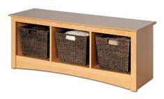Entryway Storage Bench w 3 Cubbies in Espresso (Maple) by Prepac, http://www.amazon.com/dp/B0001SPRH2/ref=cm_sw_r_pi_dp_BKUesb0RQN2T5