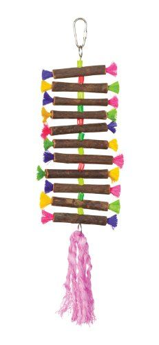 Prevue Hendryx 62506 Tropical Teasers Twisting Sticks Bird Toy -- Want additional info? Click on the image.