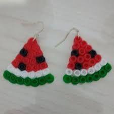 Risultati immagini per creazioni in pyssla Fuse Beads, Hama Beads, Crochet Earrings, Ikea, Jewelry, Jewerly, Jewlery, Ikea Co, Perler Beads