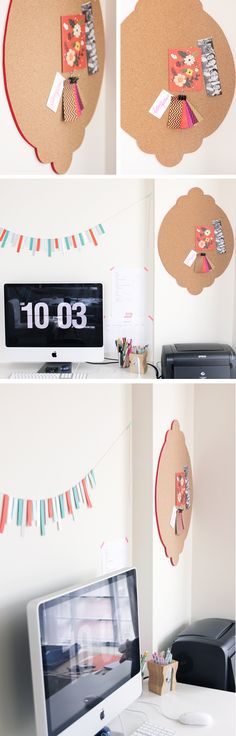 DIY A Pinboard For Your Workspace