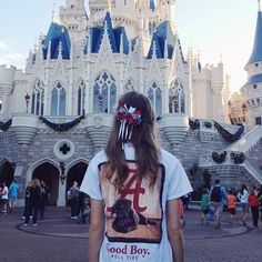 Reppin Bama all the way from the Magic Kingdom