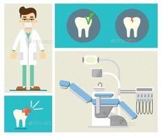 Set of Dental Infographics