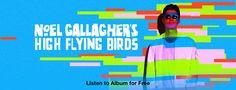 Noel Gallaghers High Flying Birds Typography
