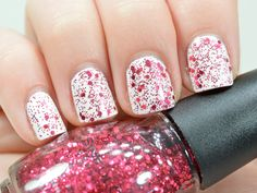 SinfulColors Holiday Glitter in 'Decadent'