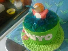 ponyo cake i made