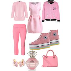 Untitled #4 by popsneakers on Polyvore featuring polyvore, fashion, style, Juicy Couture, Quiz, Beyond Yoga, Victoria Beckham and J.Crew
