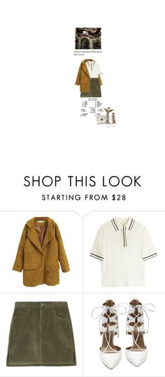 """The power."" by the-clary-project ❤ liked on Polyvore featuring rag & bone and Aquazzura"