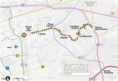 Ville de Montreuil : Le prolongement de la ligne 11 du métro de Mairie des Lilas à Rosny-Bois-Perrier
