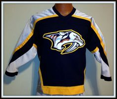 NASHVILLE PREDATORS KOHO NHL HOCKEY JERSEY YOUTH LARGE/XLARGE FREE SHIPPING #KOHO #NashvillePredators