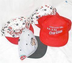 4 coca-cola #enjoy coke #drink pop ball caps hats #chicago white sox baseball,  View more on the LINK: http://www.zeppy.io/product/gb/2/181773936357/