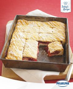 This is a Cherry crème Danish you could probably finish in a minute-ish.
