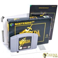 The Legend of Zelda: Ocarina Of Time (Nintendo for sale online Game Sales, Games Consoles, Nintendo 64, Legend Of Zelda, Video Game Console, Game Room, Funko Pop, Arcade, Videogames