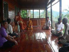 Nun Amorn Pun International Meditation Center is hosted by the Theravada Buddhist monastery of Wat Kow Tham in the south of the beautiful tropical island Koh Phangan.